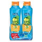 Suave Kids, 3 in 1 Shampoo, Conditioner, Body Wash, Splashing Apple Toss, 22.5 Oz. (2 Pack)