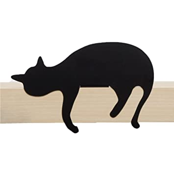 Artori Design CatS Meow | Figura Oscar | Silueta de Gato Decorativa metálica | Estatuilla de