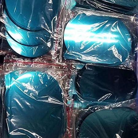 Jenkun Rainproof Anti-fog Car Rearview Mirror Film Sticker Protective Film Rain Shield Side Window Ultra-clear Film Size:100 * 100mm Color:blue