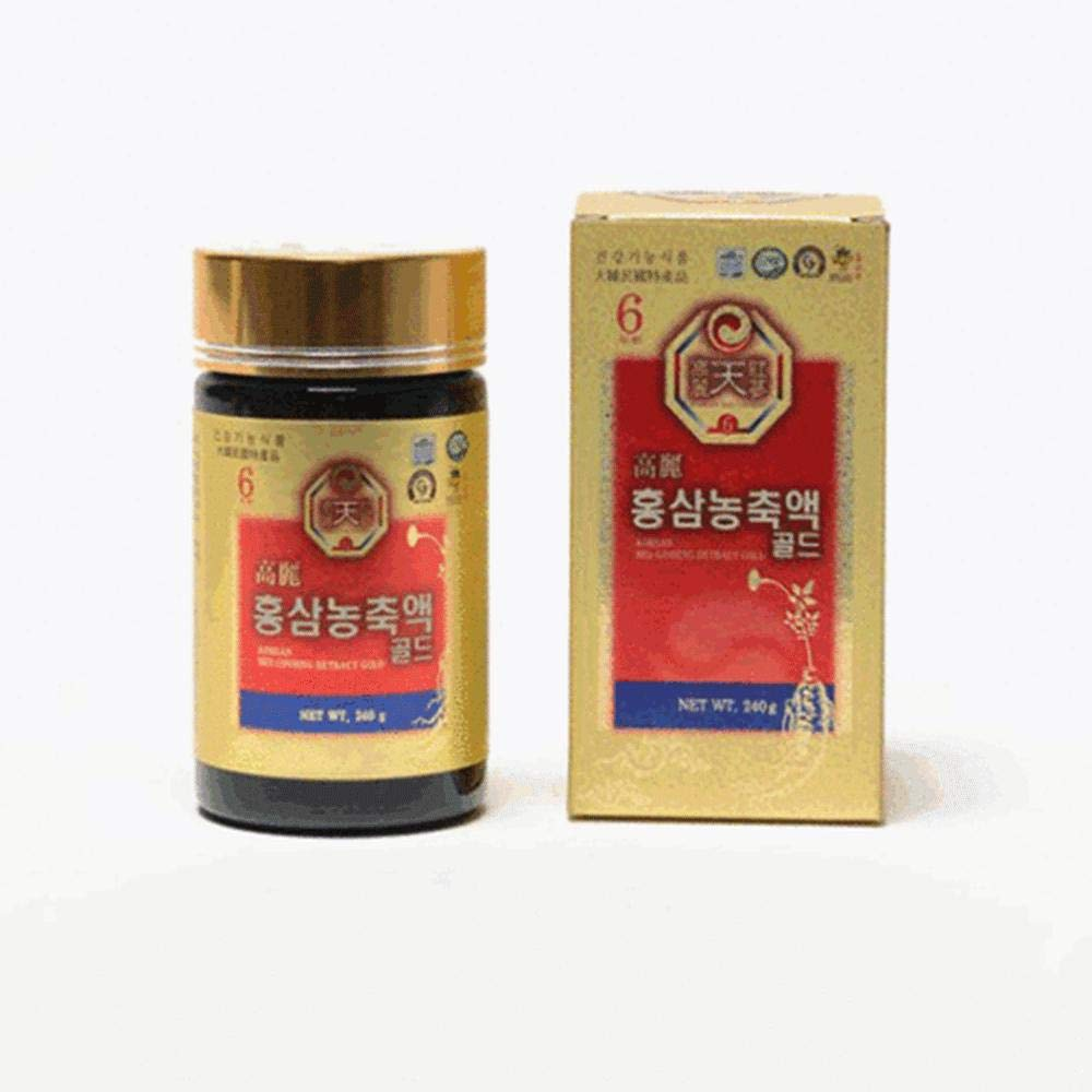 Korean Red Panax Ginseng Extract Gold 240g