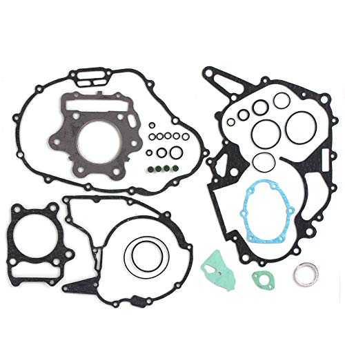 (RUHUO TRX300EX Gasket Complete Kit for Honda 1993-2008 Cylinder Pad)