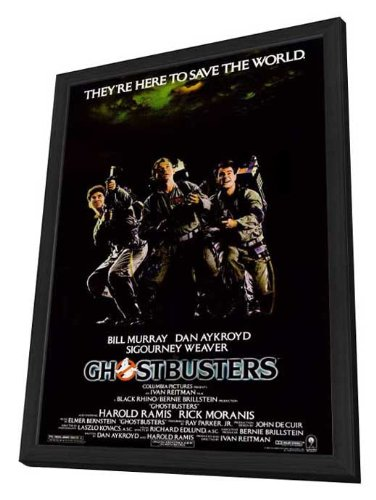 Ghostbusters - 27 x 40 Framed Movie Poster by Movie Posters
