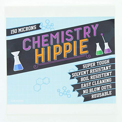 Chemistry Hippie | 150 Micron Pressing Screens 6-pack | Essential Oil Concentrate Press Filter | 5x5 Inch Screen Sheets by Chemistry Hippie