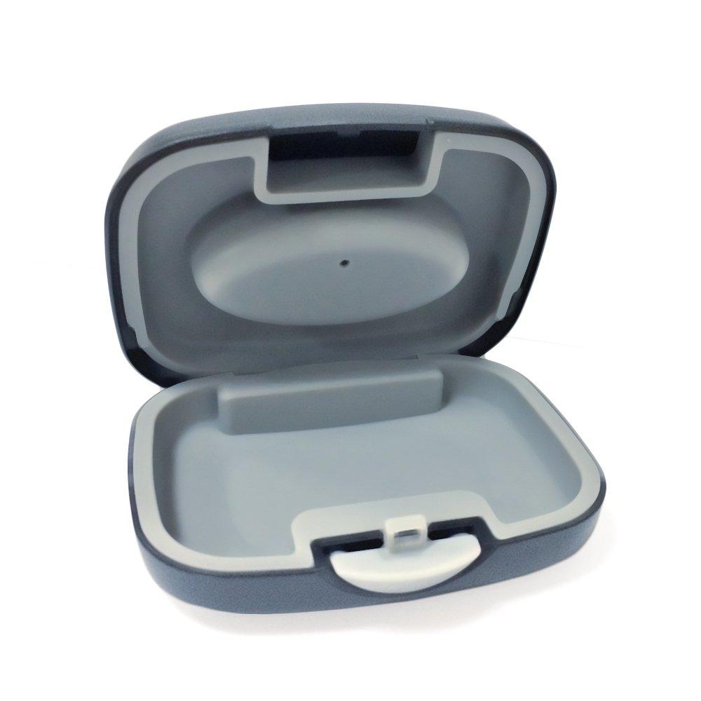 SOUNDLINK Hard Hearing Aid Storage Case for BTE, IEC, CIC Hearing Aids