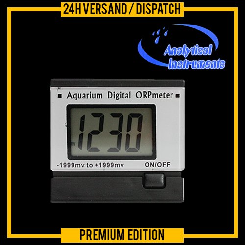 Digital continuous ORP / Redox (mV) Meter / Monitor / Tester (169-F)