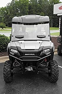 New Seizmik Vented Windshield (Double-Sided Polycarbonate) - 2014-2018 Honda Pioneer