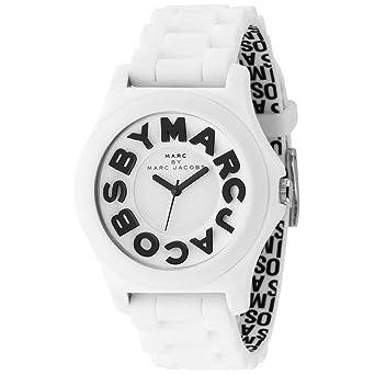 562089e81ea Marc by Marc Jacobs Quartz Sloane White Dial Women s Watch MBM4005  Marc By Marc  Jacobs  Amazon.co.uk  Watches