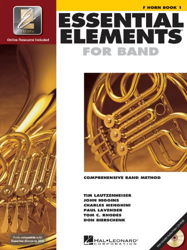 Essential Elements 2000, Book 1 - French Horn BK+ CD