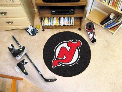 (Fanmats New Jersey Devils Puck Floor Mat)