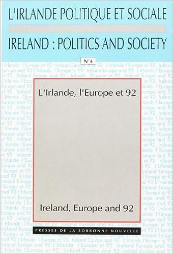 Download L'Irlande, l'Europe et 1992 =: Ireland, Europe and 1992 epub, pdf