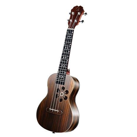 YOUKELILIA Populele S1 Acústica Eléctrica Inteligente Bluetooth Guitarra Ukulele Soprano 23 Pulgadas 4 Cuerdas Ukulele Concierto