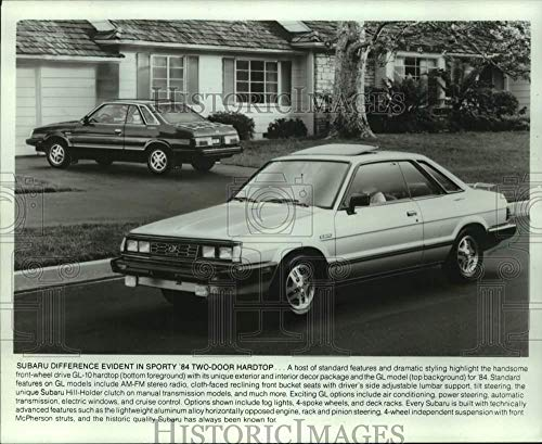 Vintage Photos 1984 Press Photo Subaru