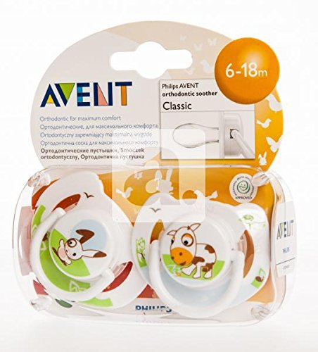 Philips AVENT 8710103527817 Chupete, multicolor: Amazon.es: Bebé