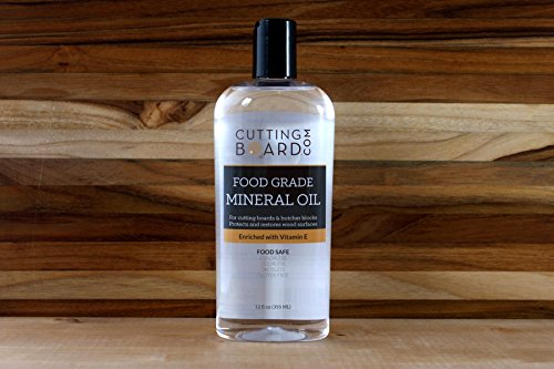 Food Grade Mineral Oil for Cutting Boards, Countertops and Butcher Blocks - Food Safe and Made in the USA by CuttingBoard (Image #1)