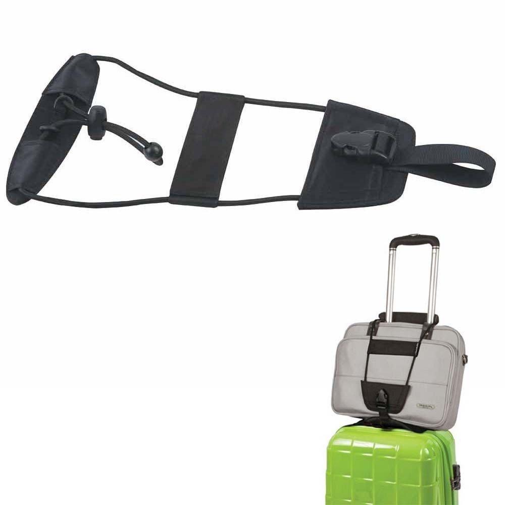 2 P/äckchen Gep/äck Bungee Armband Add a Bag Bungee Kabel elastische Koffer G/ürtel Krawatte Gep/äck zusammen