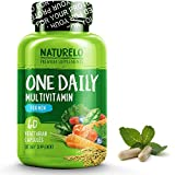 Cheap NATURELO One Daily Multivitamin for Men – with Whole Food Vitamins & Organic Extracts – Natural Supplement – Best for Energy, General Health – Non-GMO – 60 Capsules | 2 Month Supply