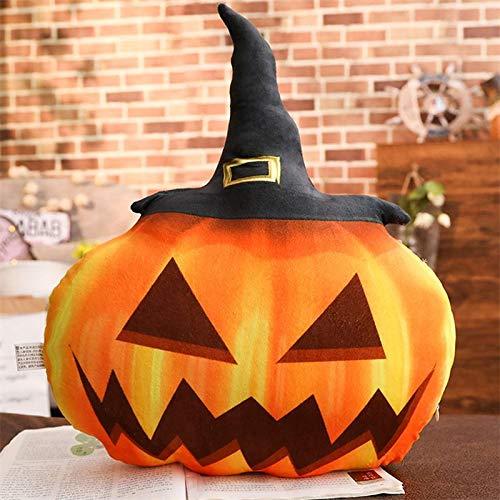 GOONEE Plush Plant - Pumpkin Plush Toys Cute Halloween Decoration Doll Gift Stuffed Toys for Children Soft Pillow - 31cm-50cm 1 - Jester Disco Plushes Imp Potted Toy Versus Snapdragon Vs Nut -
