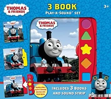 Thomas the Tank Engine Play A Sound 3 Book Box Set, Train