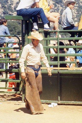 Steve McQueen rodeo scene in Junior Bonner 24x36 Poster