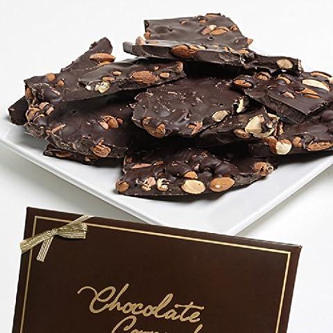 Belgian Dark Chocolate Almond Bark - 12oz - Fall Assorted Chocolates
