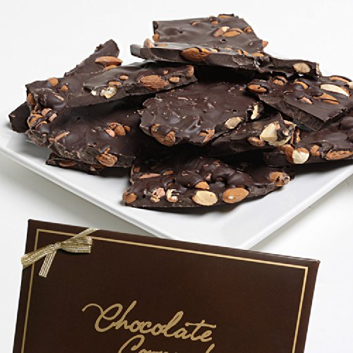 Chocolate Almond Bark Dunmore Candy Kitchen: Belgian Dark Chocolate Almond Bark