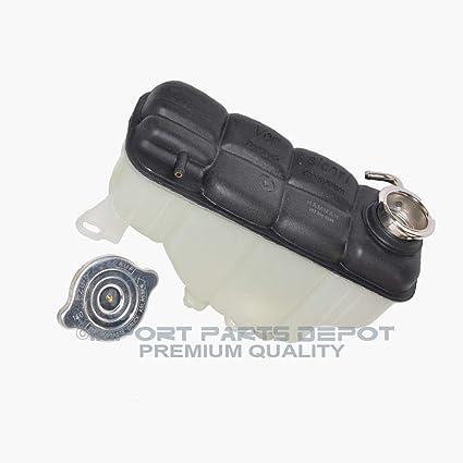 Cap Mercedes W251 R320 R350 R500 Coolant Reservoir Expansion Tank w// Sensor