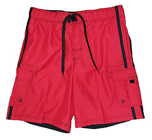op-red-solid-side-stripe-tugger-above-knee-205-outseam-swim-short-trunks-x-large