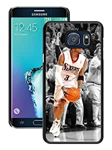 Unique Samsung Galaxy S6 Edge+ Skin Case ,Fashionable And Durable Designed Phone Case With Allen Iverson Black Samsung Galaxy S6 Edge Plus Screen Cover Case