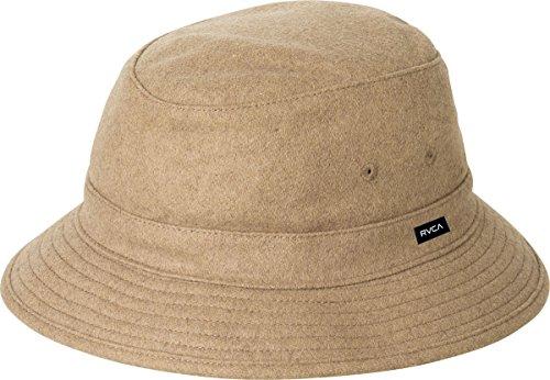RVCA Men's Oak Bucket Hat, Bark, One Size (Bucket Hat Wool)