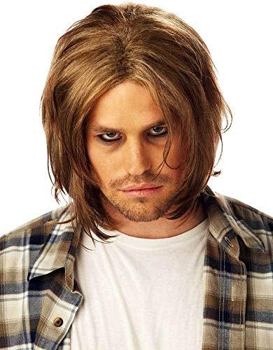 ESSA OAT clothes series Adult Men Grunge Halloween Wig]()