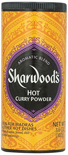 Sharwood Hot Curry Powder, 4 oz by Sharwood