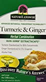 Nature's Answer Turmeric and Ginger, 90 LCAPS