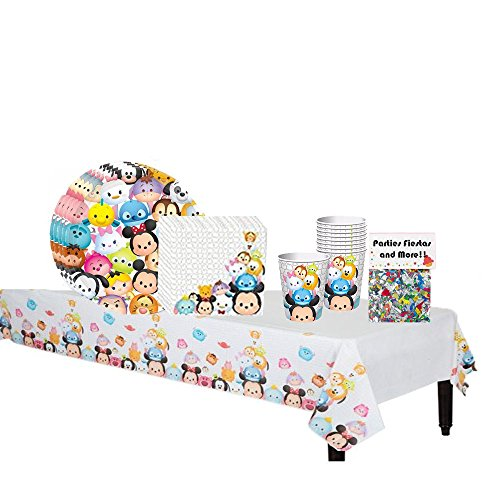Tsum Tsum Birthday Party Supplies for 16 Guests