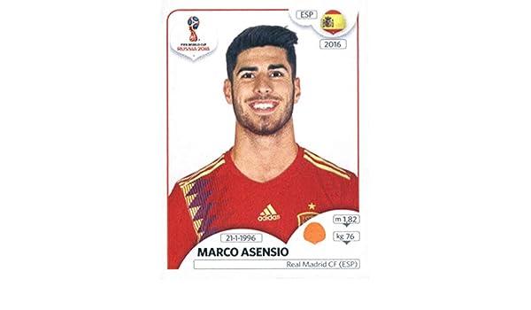 World Cup Stickers Russia WTD 2018 Panini 145 Marco Asensio España - Adhesivo decorativo para taza de fútbol: Amazon.es: Deportes y aire libre