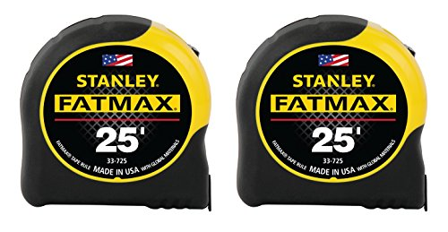 Stanley FMHT74038A FatMax 25 Foot Tape Measure 2PK made in Connecticut