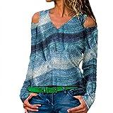AOJIAN Blouse Women Long Sleeve T Shirt Plus Size Off Shoulder Tunic Tees Tank Shirts Tops