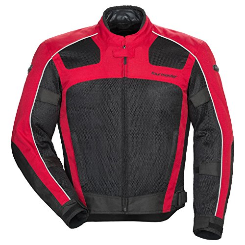 Tour Master Draft Air 3 Mesh Summer Jacket - Red/Black - Waterproof Jacket Signature Adventure