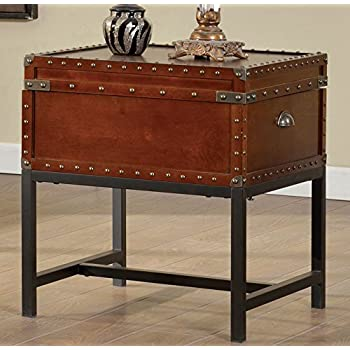 Unique Amazon.com: Southern Enterprises Steamer Trunk End Table: Kitchen  CC76