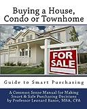 Buying a House - Condo or Townhome, CPA, Professor Leonard P., Professor Leonard Baron, MBA, CPA, 1456497618