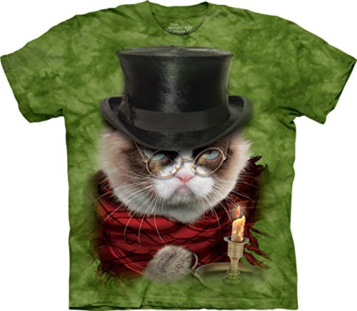 The Mountain Grumpy Cat Grumpenezer Scrooge T-Shirt