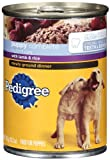 Pedigree Meaty Ground Dinner with Lamb and Rice Food for Puppies, 13.2-Ounce Cans (Pack of 24), My Pet Supplies