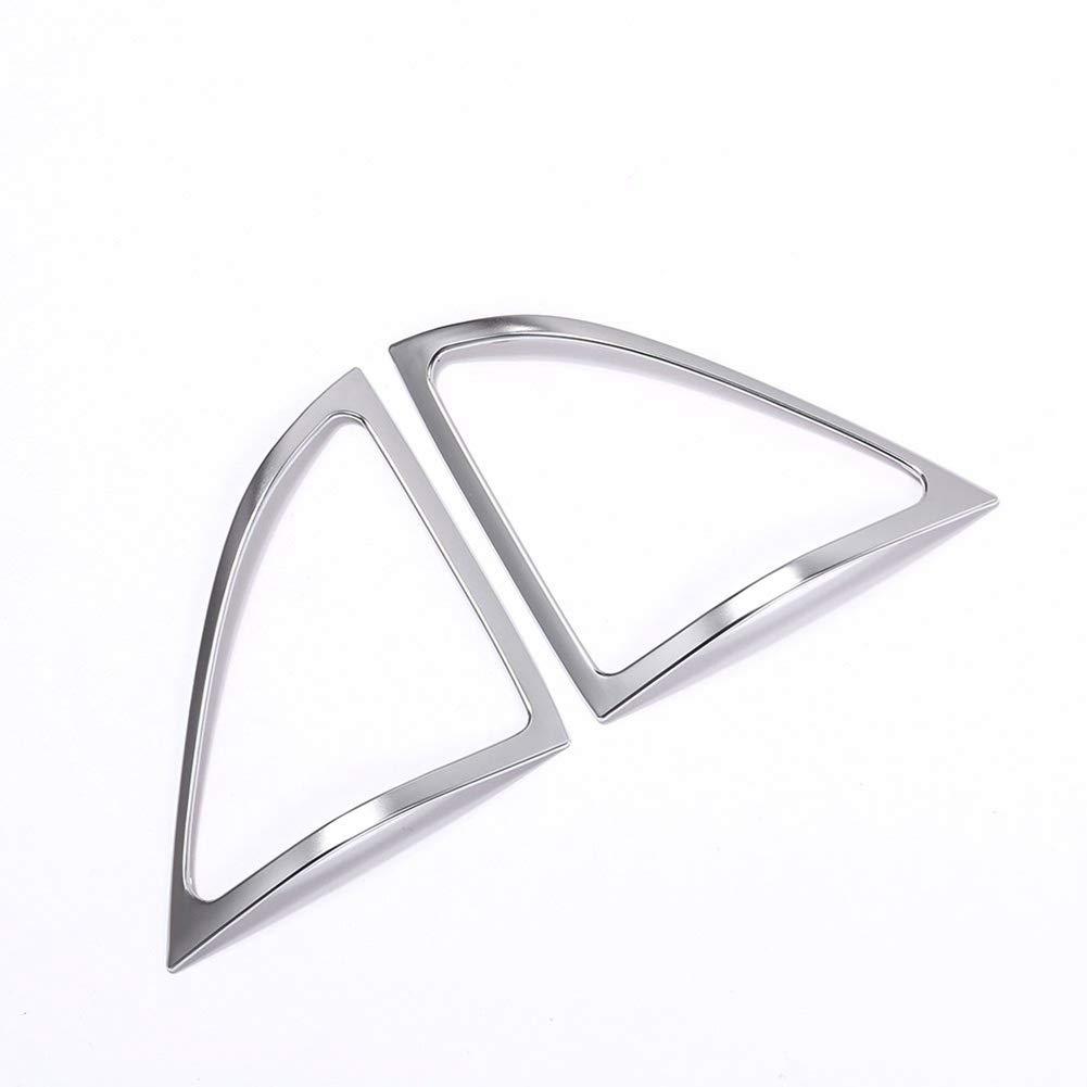Interior Auto Vehicle Accessory, for Mercedes-Benz S Class W222 2014-2017, Front Door Speaker Frame Cover Trim Sticker ABS Plastic Matte Silver, 2 pcs/set