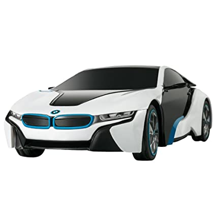 Amazon Com Rastar Bmw I8 Radio Remote Control Sport Racing Car Rc 1