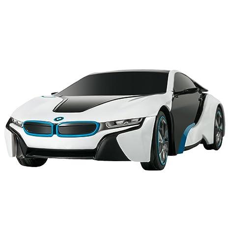 Amazon Com Rastar Bmw I8 Radio Remote Control Sport Racing Car Rc 1