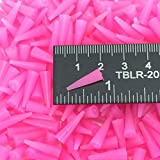(250) 1/16'' X 3/16'' High Temp Silicone Rubber Tapered Plugs Powder Coat Coating Paint Masking Supplies