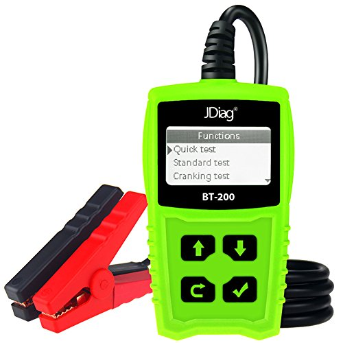 JDiag FasCheck BT-200 Professional Car Load Battery Tester 12V 100-2000 CCA 220AH Digital Battery Analyzer Bad Cell Test Tool for Automotive/Truck/Motorbike Etc(Green) by JDiag (Image #8)