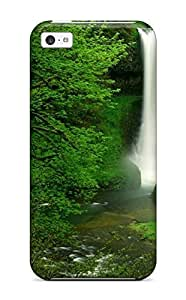High-quality Durability Case For Iphone 5c(hidden Waterfall Earth Nature Waterfall)