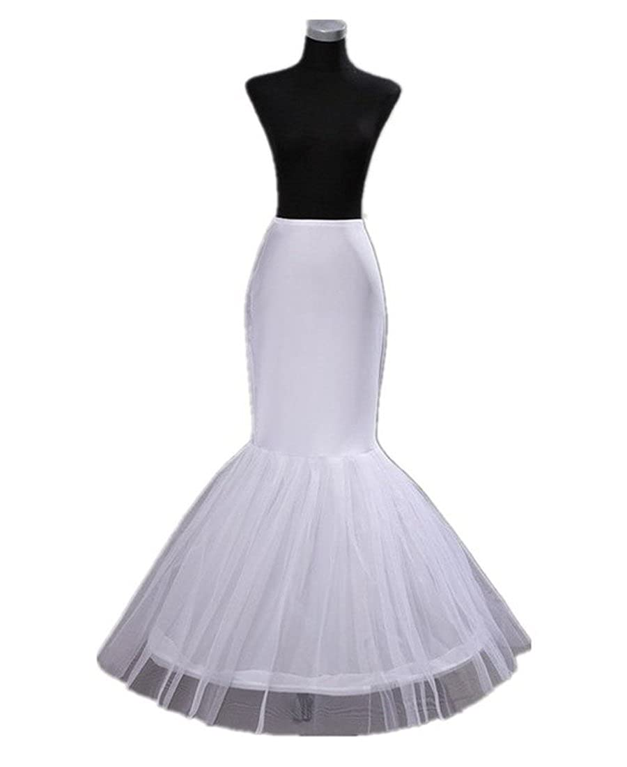 Bridess Women's Crinoline Underskirt Petticoat slip for Wedding Bridal Dress White 524895