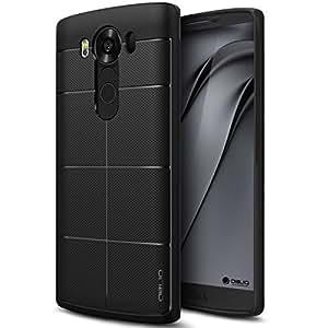 LG V10 Case, OBLIQ [Shock Absorption][Flex Pro] [Black] Slim Fit Scratch Resist Protective Case for LG V10
