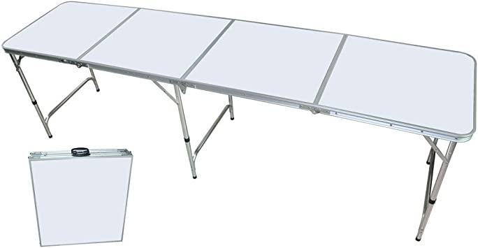 Aluminio con asa 240 x 60 cm mesa, DM, 9,2 kg, plegable | | Mesa ...